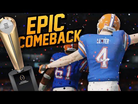 Greatest Comeback EVER // NCAA 14 Road to Glory EP 48