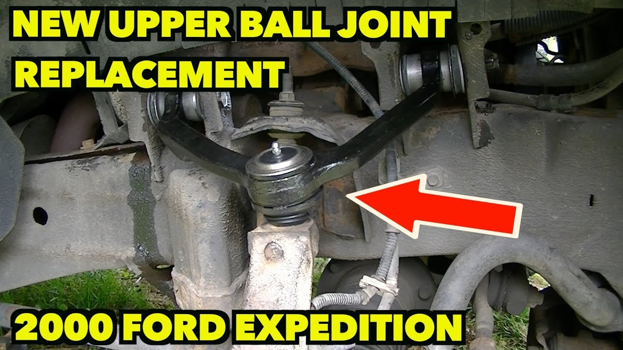 medium resolution of upper ball joints you can do it step by step how to replace them on a 1997 2003 expedition