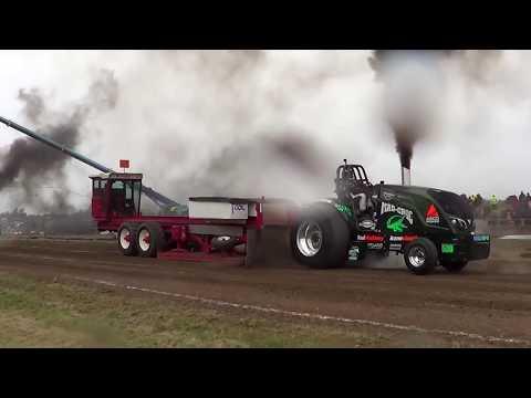 Videokooste Tractor Pulling Laholm Sweden 7.10.2017