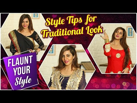 Arshi Khan | Flaunt Your Style Ep. 2 | Traditional Wear | TellyMasala thumbnail