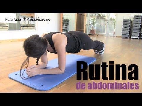 entrenamiento para marcar el abdomen