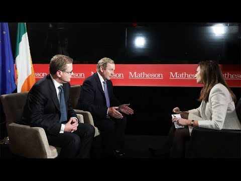 Former Taoiseach Enda Kenny TD on Ireland's Corporate Tax Rate, Matheson Brexit Interview