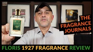 FLORIS 1927 Fragrance Review | Full Bottle USA Giveaway