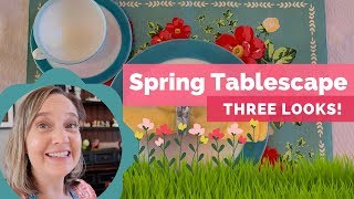 Easter Tablescape 2019