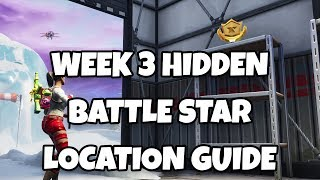 Fortnite Saison 7 Semaine 3 Secret Battle Star Location Guide (Fortnite: Battle Royale)