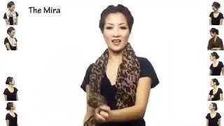 Красиво завязать шарф или платок на шее(Не знаете как повязывать платки или шарфы? Это видео сможет помочь вам, предложив 25 способов повязывания..., 2014-05-07T08:42:47.000Z)