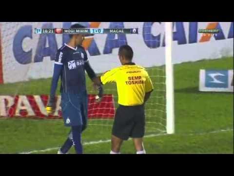 Mogi Mirim 3 x 1 Macaé - Série B  2015 Gols de Rivaldo Junior e Rivaldo