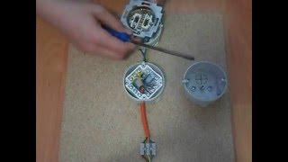 elektroobvody #4 zásuvky, krabička