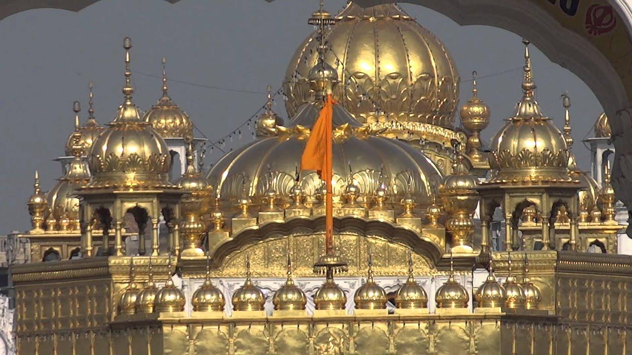 Amritsar Golden Temple Templo De Oro Hd Video Youtube