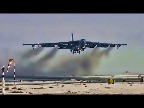 U.S. Air Force Aircraft Takeoff At Al Udeid Air Base, Qatar