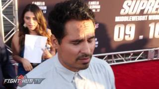 Michael Peña wants Golovkin vs. Andre Ward