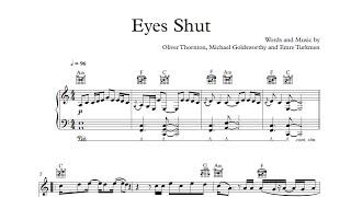 Eyes Shut - Years & Years [Sheet & Midi Download]