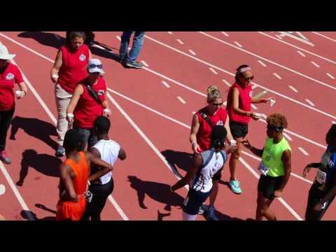 Galen Johnson wins JO 100m 14y
