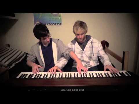 Sleigh Ride Duet Fantasy | Frank & Zach Piano Duets