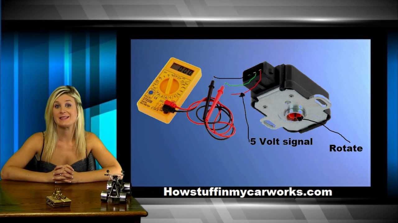 How The Throttle Position Sensor Works Also Known As Tps Ktm Duke 2 Wiring Diagram Youtube