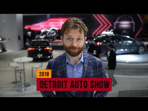 These are our editors' picks for the 2018 Detroit Auto Show