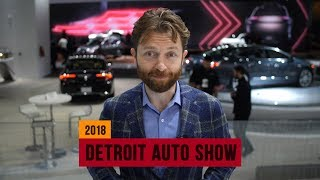 These are our editors' picks for the 2018 Detroit Auto Show thumbnail