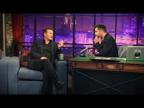 """Вечерний Ургант - Лиам Нисон/Liam Neeson, группа """"Квартал"""". 39 выпуск, 19.09.2012"""