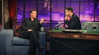 """Лиам Нисон/Liam Neeson, группа """"Квартал"""". Вечерний Ургант - 39 выпуск, 19.09.2012"""