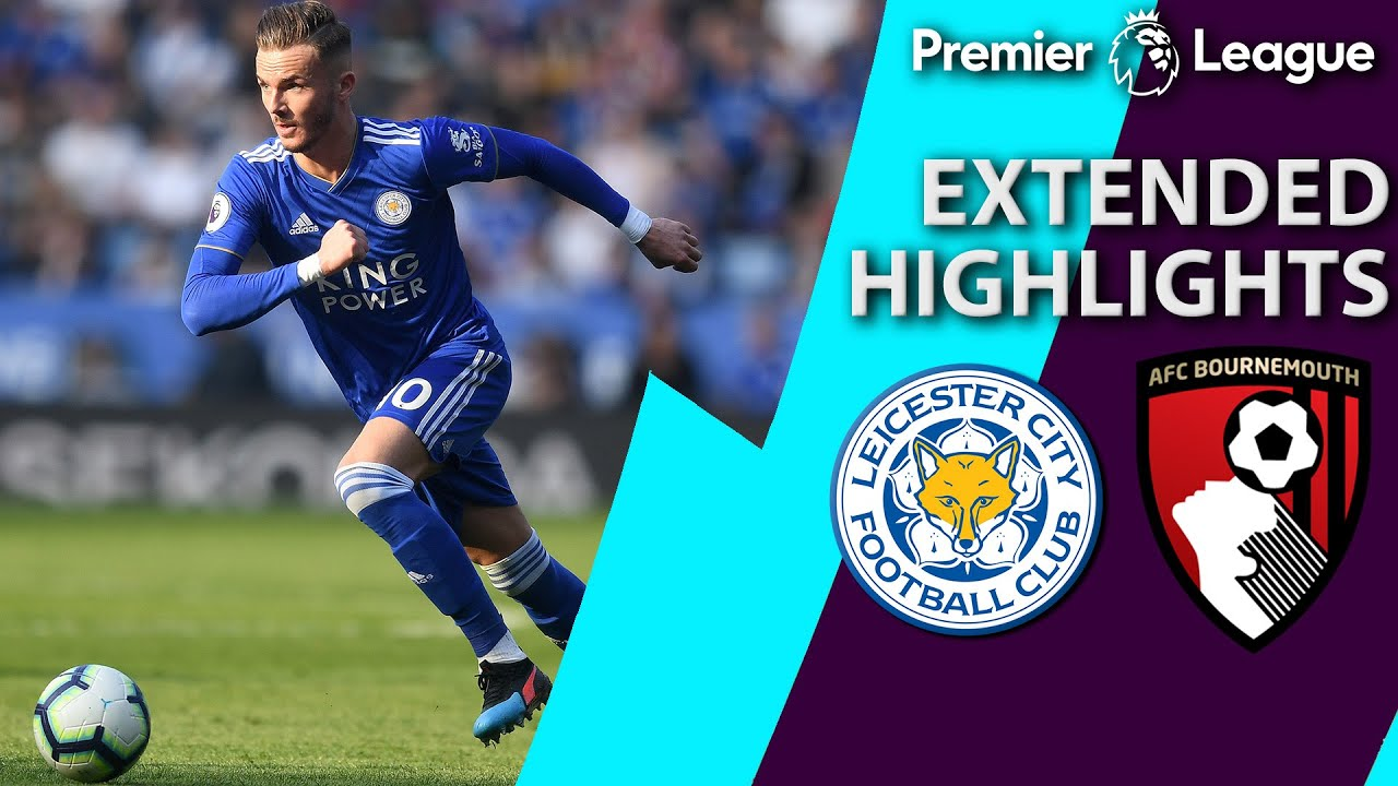 Leicester City v. Bournemouth | PREMIER LEAGUE EXTENDED HIGHLIGHTS | 3/30/19 | NBC Sports