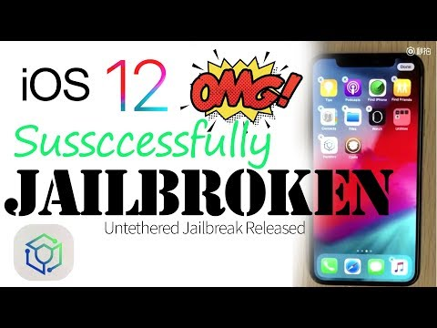 iOS 12 Untethered Jailbreak - 100% Working - [ Latest Update ]