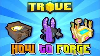 HOW TO FORGE RADIANT & STELLAR GEAR! - Trove Guide / Tutorial on Xbox One, PS4, PC