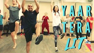 Mickey Singh Yaar Tera Lit Bhangra Dance Steps & Tutorials Learn Bhangra
