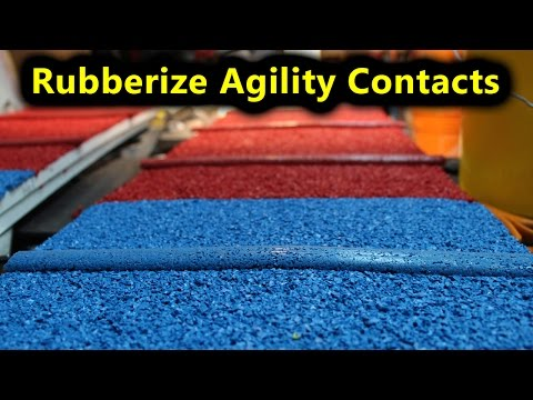 How To Rubberize Your Agility Equipment Contacts