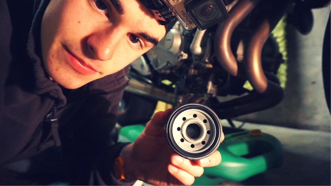 E Cambiare Olio Motore E Filtro Olio Alla Moto