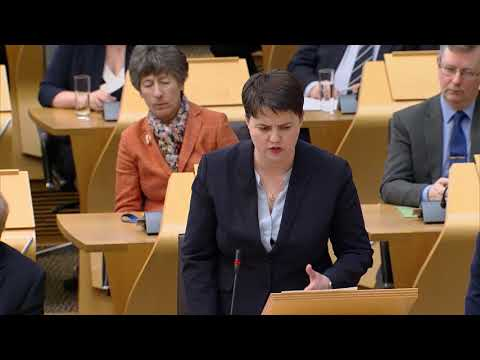 First Minister's Questions - 15 March 2018