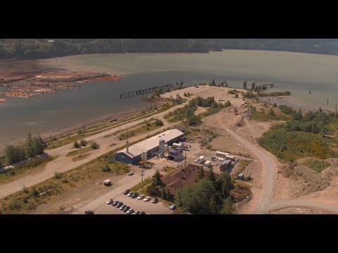Carbon Engineering's pilot plant in Squamish B C