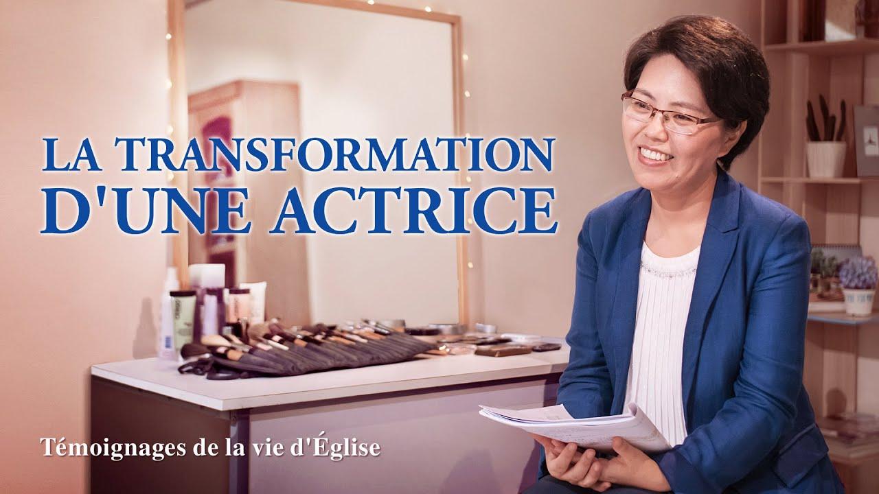 Témoignage chrétien 2020 « La transformation d'une actrice »