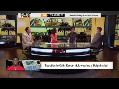 Aldon Smith is OK With Colin Kapernick