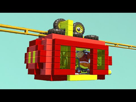 CABLE CAR BUILD CHALLENGE! (Scrap Mechanic)