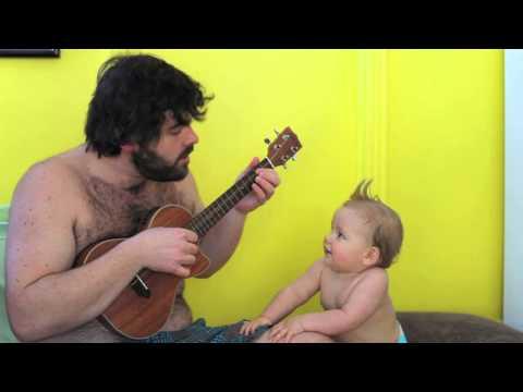 Pépé et sa guitare -Hawaï