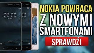Nokia Powraca – Znamy Szczegóły Nowych Smartfonów!