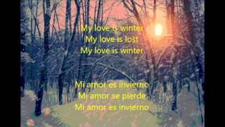 The Smashing pumpkins My love is winter subtitulado español ingles