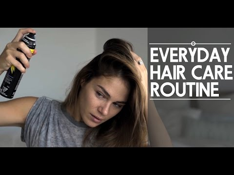 My Everyday Hair Care Routine & Easy Style Tutorials