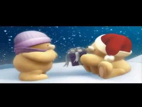 Frohe Weihnachten mit den goldigen Bären