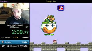 "[3:02.48] SMW ""Kill Bowser"" World Record Speedrun"