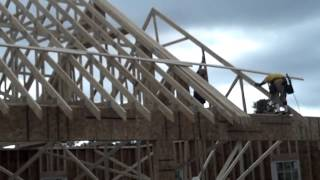 Rolling Final Attic Trusses Pt Iii