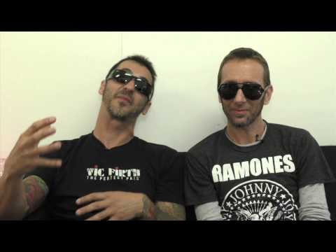 Godsmack interview - Sully and Shannon (part 1)