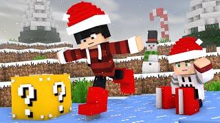 Minecraft - PATINS DE NATAL ‹ ESCOLHA A PORTA › MINI-GAME (LUCKY BLOCK)