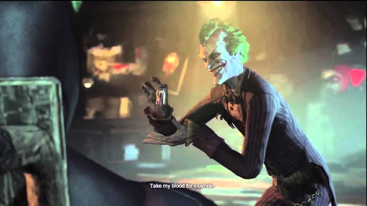 Batman arkham city joker reveal youtube for Joker immagini hd