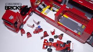 Lego Speed Champions 75913 F14 T & Scuderia Ferrari Truck Speed Build Review