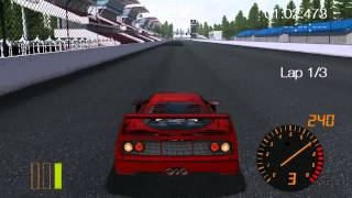 RedlineRacing Build 07 PC Gameplay