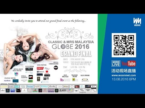 Grand Final of Classic & Mrs Malaysia Globe 2016