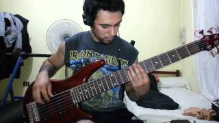 IRON MAIDEN - Public Enema Number One. Bass Cover by Samael.