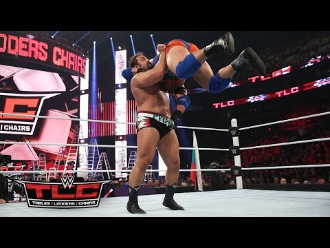 WWE Network: Ryback vs. Rusev: WWE TLC 2015