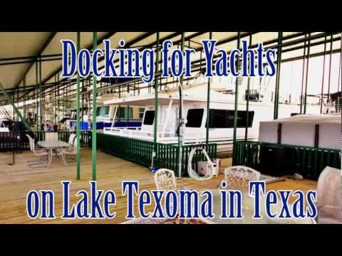Luxury Yachts For Sale At Resort & Marina With Docking For Yachts On Lake Texoma In TX